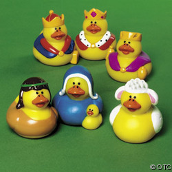 Rubber Duckies Nativity